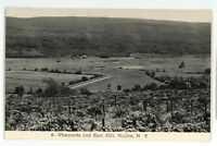 RPPC Vineyards Winery NAPLES NY Finger Lakes Ontario County Real Photo Postcard