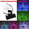 20LED Cycling Bicycle Wheel Spoke Light Bike String Strip Lights Tire Valve Lamp