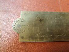 Ancien Compas de Proportion, Pied de Roy XVIIIème / Objet de Marine, Pied de Roi