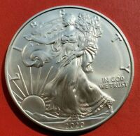 2020 Liberty Walking American Silver Eagle Dollar Coin. Excellent Condition