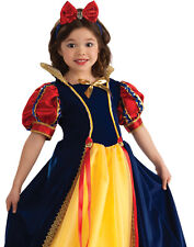 Little Enchanted Princess Kids Costume Dress Snow White Deluxe Size Small 4-6