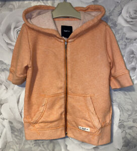 Girls Age 6-7 Years - Gap Hooded Zip Up Sweater