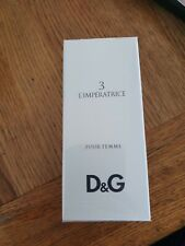 Nueva marca Sealed L'Imperatrice D&G Pour Femme