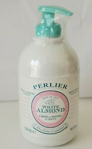 Perlier White Almond Absolute Comfort Bath Cream 16.9 oz, Factory Sealed NEW