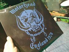 MOTORHEAD - ENGLAND 1978 BLUE VINYL Limited Edition 500 Copies Iron Horse Lemmy