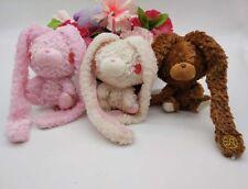 3PCS Chax Taito Mori Chack Pink Rabbit Bunny Gloomy bear plush doll