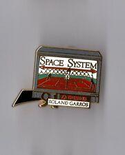 Pin's Roland Garros 1991 / thomson - Space system  (Zamac signé Arthus Bertrand)