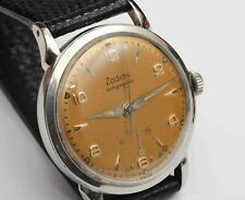 vintage ZODIAC AUTOGRAPHIC AUTOMATIC Mens Wristwatch w/ POWER RESERVE INDICATOR