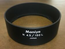 [Rare!! TOP MINT] Mamiya N 150mm F4.5 L Lens Hood For 7 7II From JAPAN #396