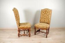 Paire de chaises Louis XIV