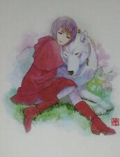 WOLF'S RAIN TOSHIHIRO KAWAMOTO ULTRA RARE EUROPEAN PRINT EXCLUSIVE /250