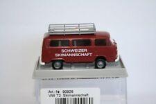 Brekina 90926 - 1/87 Volkswagen / Vw T2 Kombi - Schweizer Skimannschaft - Neu
