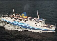 Sealink British Ferries HORSA still laid up in Greece as PENELOPE A