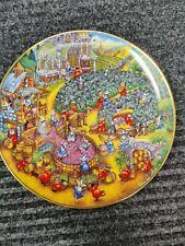 "Franklin Mint ""A Purrfect Harvest"" Bill Bell Cat Plate Free Ship"
