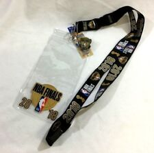 2018 NBA Finals Ticket Holder Lanyard I Was There Pin Warriors Cavaliers FREESHP