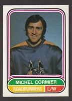 1975-76   OPC O PEE CHEE  WHA  # 74  MICHEL CORMIER  RC   INV  J3954