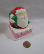 PLAYSKOOL Dollhouse CHRISTMAS SANTA CLAUS CHIMNEY TOPPER for Loving Family Rare