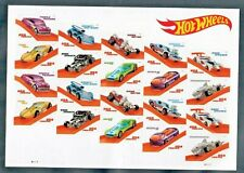 Usa #5321-5330 Mnh, Forever pane of 20, Hot Wheels & Toy Cars Sheet, (2018)