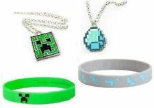 Minecraft Party Pack #2 - 10 Mix Bracelets, 10 Mix Necklaces, 10 Free Balloons