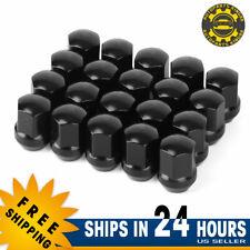 20 Black Lug Nuts 9/16-18 for Dodge Ram 1500 2500 3500 Durango Dakota Raider US