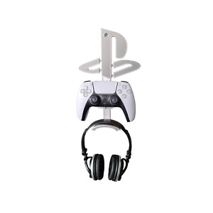 Playstation 5 Headphones & Controller Wall Mount Logo