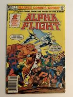 Alpha Flight #1 (1983) Marvel Comics Dynamic Double-Sized Issue 1st App Puck