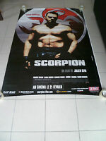 AFFICHE SCORPION 4x6 ft Bus Shelter Movie Poster Original 2007