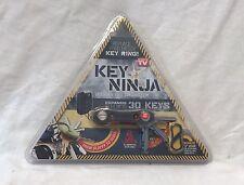NEW Key Ninja Modern Key Organizer  Ring Reinvented LED lights As Seen on TV New