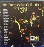THE SMITHSONIAN COLLECTION OF CLASSIC JAZZ - 6 LP's Vinyl is in EX Condition