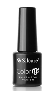 Silcare Color it! Base and Top Coat 2 Vanish Hybrid UV