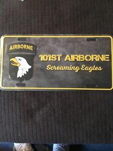 US Army Kennzeichen Nummernschild License Plate USA D-Day 101st Airborne 🇺🇸