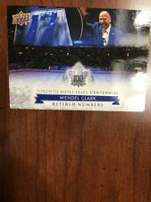 2017 Ud Toronto Maple Leafs Centennial Collection #130 Ed Belfour