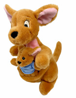 NWT and Rare  Disney Store Plush Kanga And Roo  from Winnie The Pooh 12 ""