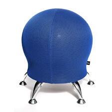 Hocker Sitzball Schreibtischstuhl Rückentrainer Topstar Sitness 5 blau B-Ware