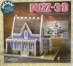 NIB 3D Jigsaw Puzzle 266 pc. Catherine Victorian House