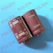 10PCS Electrolytic Capacitor NIPPON 30*45mm 10000UF50V/50V10000UF