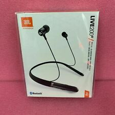 Lot Of 10 - Jbl Live 200Bt In-Ear Wireless Headphones - Black - Factory Sealed