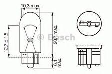 Bosch Camión/LT W5W 24V W2.1X9.5D - 1987302518 comercio PK