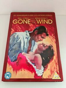 Gone with the Wind DVD (70th Anniversary 5 Disc Collectors Edition) RARE MINT