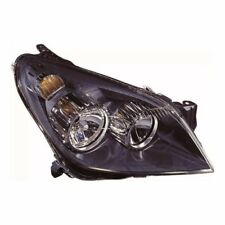 For Vauxhall Astra H Mk5 Van 5/2004-6/2007 Headlight Lamp Black Drivers Side OS
