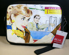 Relic 1950's Style Art Print Always Play Hard To Get Purse Handbag New With Tags