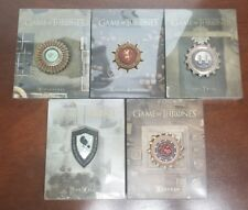 Game of Thrones Season 1, 2, 3, 4 and 5 Blu-ray Steelbook w/Collectible Magnets