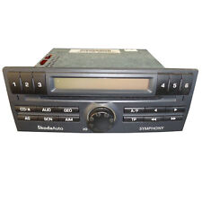 RADIO CD PLAYER SYMPHONY SKODA FABIA 6Y0035156E GARANTIE 12 MONATE DE