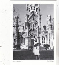 """*Postcard-""""Actress Betty Hutton""""  -The Water Tower-1955-  *Chicago, IL (#127)"""