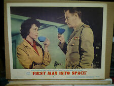FIRST MAN INTO SPACE, orig 1959 LC #3 (Maria Landi and Marshall Thompson)