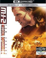 Mission:Impossible 2 (UHD Case; UK REGION-FREE Blu-ray Disc Only!) w/SLIP COVER!