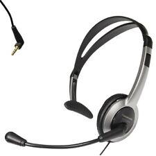 Telefon Headset Kopfhörer mit Lautstärkeregler für Gigaset S810