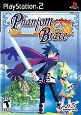 Phantom Brave: Special Edition (Sony PlayStation 2, 2004) w/ Bonus CD Soundtrack