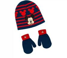 Toddler Mickey Mouse Hat and Glove Set