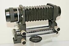 NIKON PB-4 BELLOWS UNIT with 55mm 2.8 MICRO NIKKOR LENS